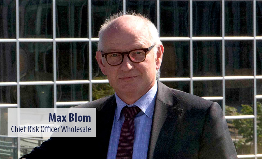Max Blom - Chief Risk Officer Wholesale - Rabobank